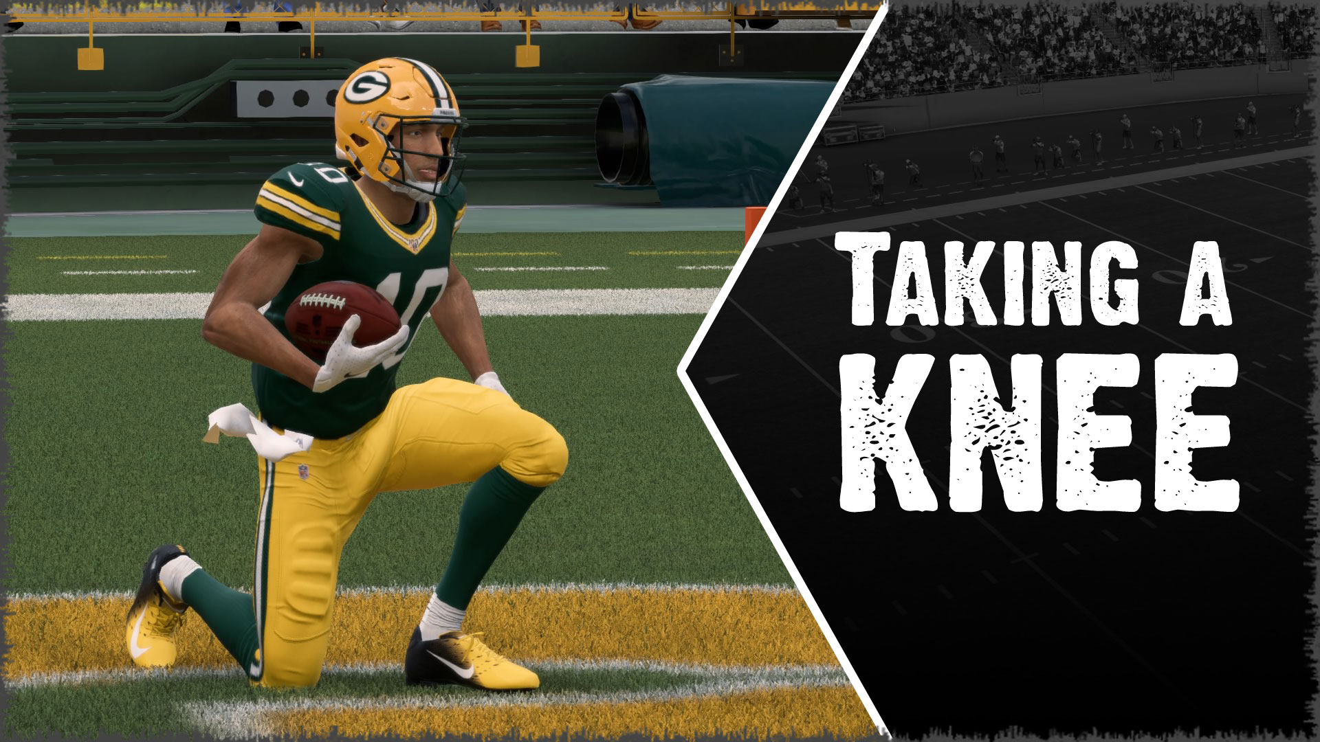 Taking a knee on kickoffs in Madden often results in better field position than a return.
