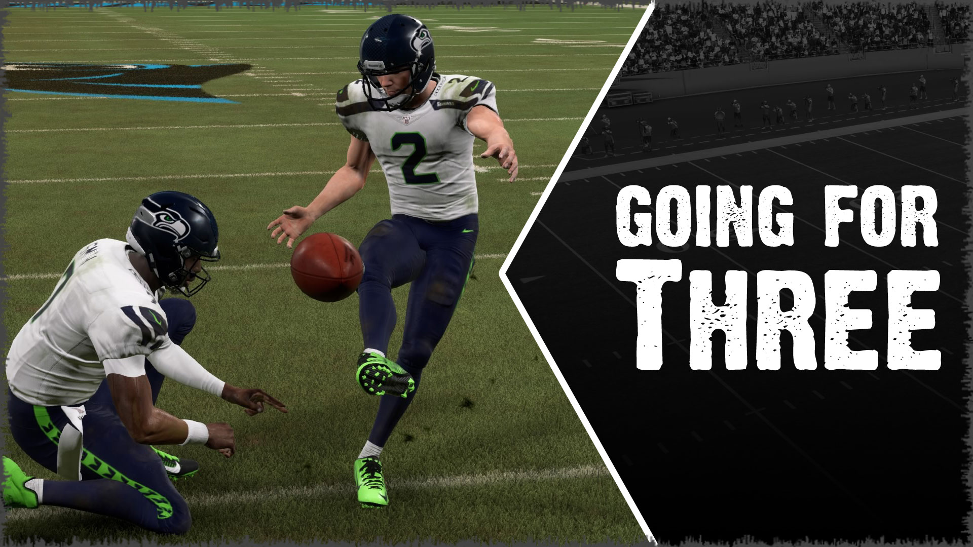 Win more Madden games by kicking field goals when drives stall.